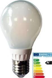 E27 filament LED koudwit mat
