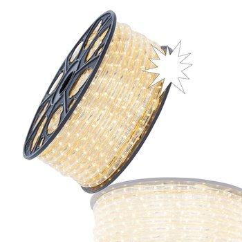 LED Lichtslang Warm Wit + Twinkle