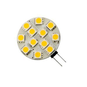 G4 2 Watt Led-lamp plat Vervangt 15 Watt G4 halogeen dimbaar
