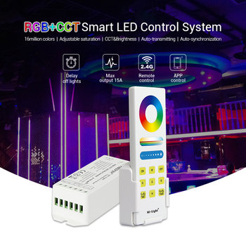 Milight Set RGB+CCT afstandbediening en controller