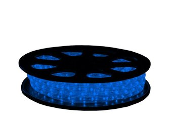 Led lichtslang 13mm 12V Blauw