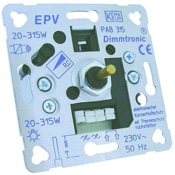 Klemko LED Dimmer D paf 315 inbouw draaidimmer