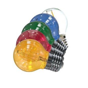 LED Filament Party-Lights 10 stuks gekleurd