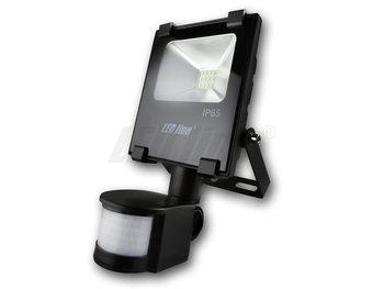 LED Bouwlamp 10W 850lm daglicht met sensor