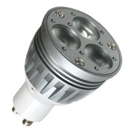 GU10 - 3x2 WATT CREE - Dimbaar - vervangt 35Watt
