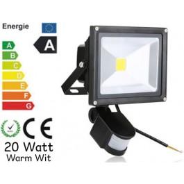 LED Bouwlamp 10 Watt met bewegingssensor