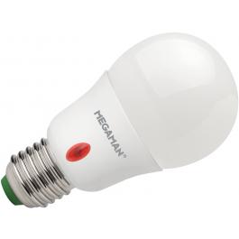 MEGAMAN E27 5.5W Ledlamp met schemersensor MM07263