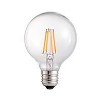 LED FILAMENT GLOBE E27 4W dimbaar