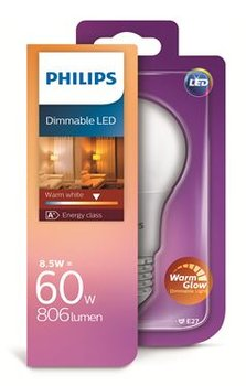 Philips Dimmable LED 8W-60W E27 806Lm