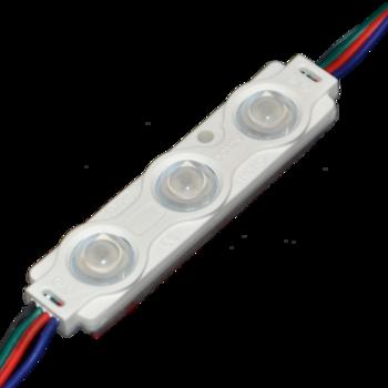Ledmodule RGB 5050 160° DC12V 0.72W IP65 70*16*8mm