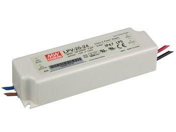 MeanWell LPV-20-24 leddriver 100W IP67