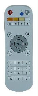 Afstandsbediening 99 kanalen RF CCT