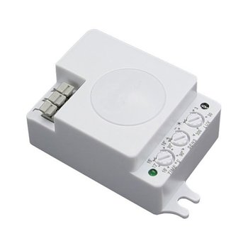Led microwave sensor white IP20