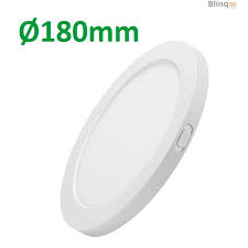 Downlight Slim 12W opbouw 4000K