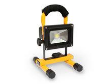 10W accu bouwlamp